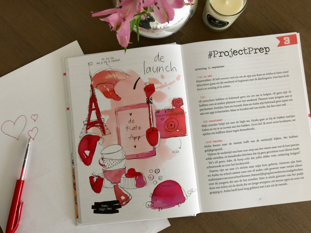 Project Prep review the girl in bed