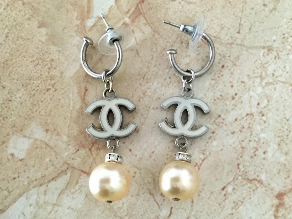 mijn vintage chanel sieraden oorbellen 2