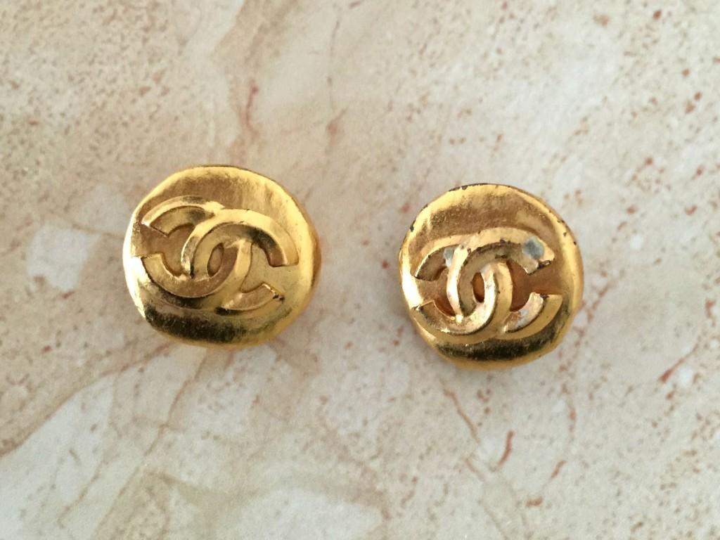mijn vintage chanel sieraden oorbellen 3