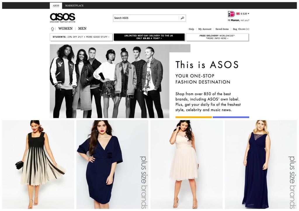 mijn 5 favo online plus size kledingwinkels asos