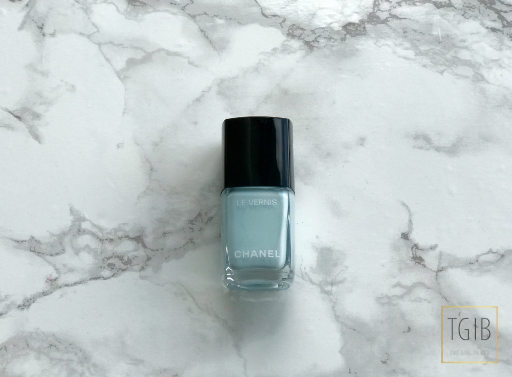 Chanel Beauty Shoplog 584 BLEU PASTEL