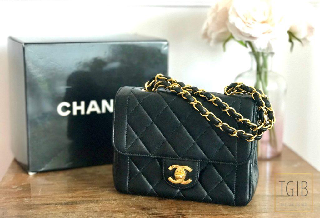 Vintage Chanel Tasje