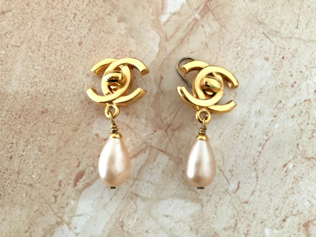 Chanel earrings vintage