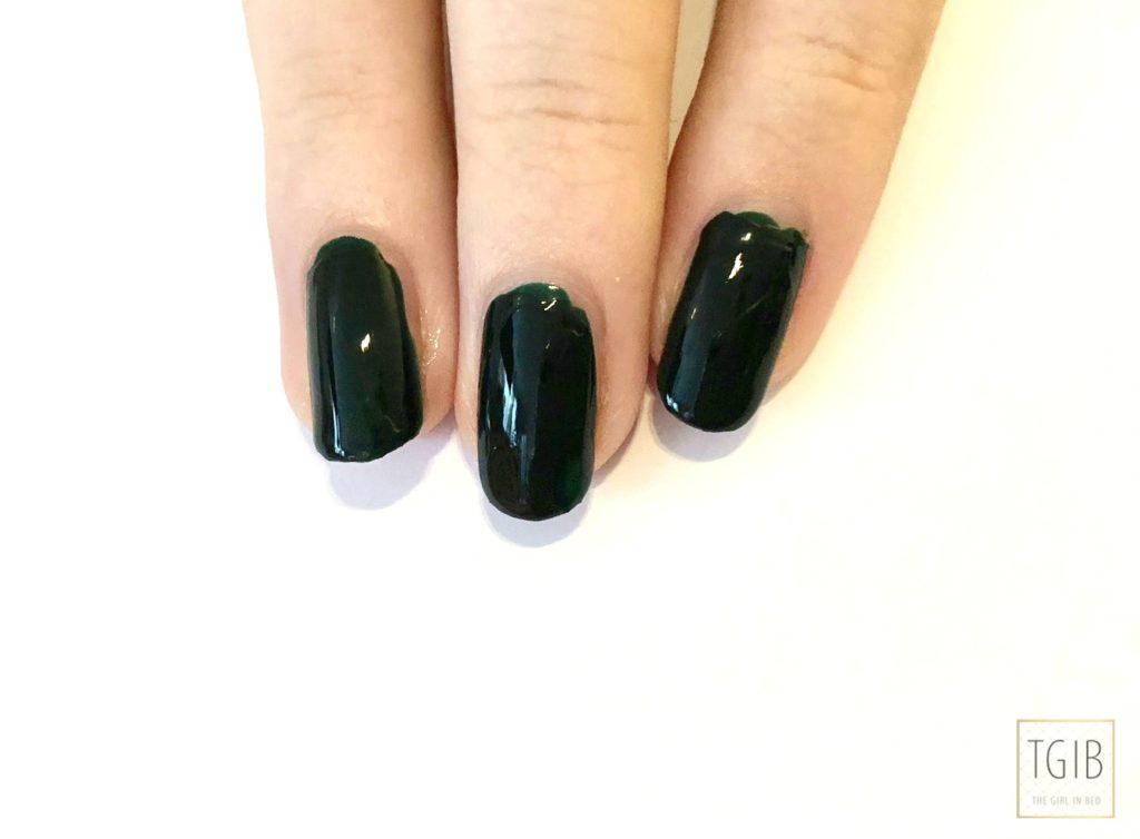 Chanel nail polish fiction swatch