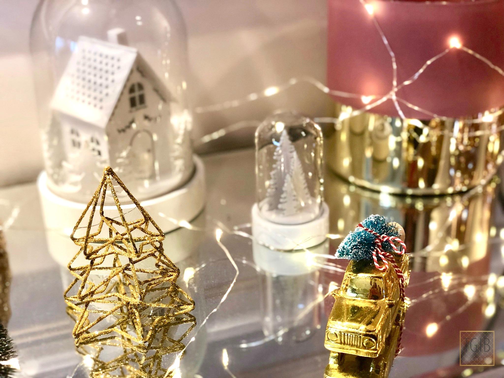 kleine kerstdecoratie