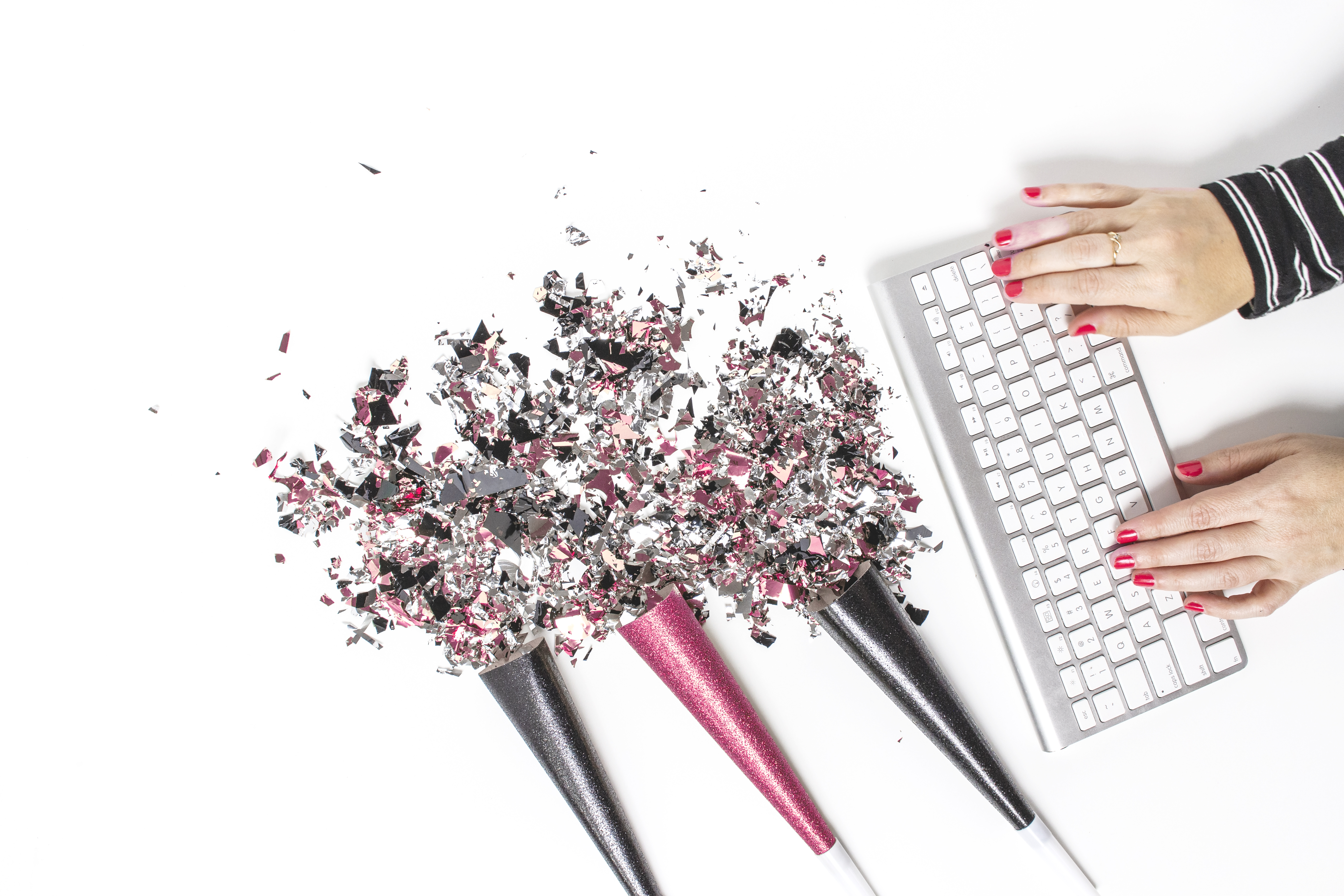 keyboard glitter