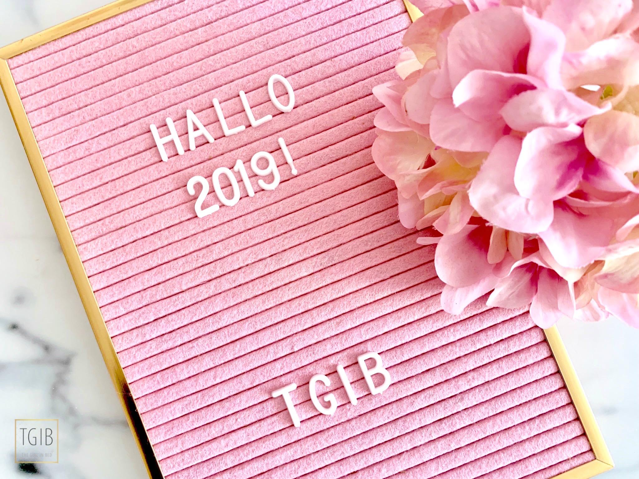 roze action letterbord 2019