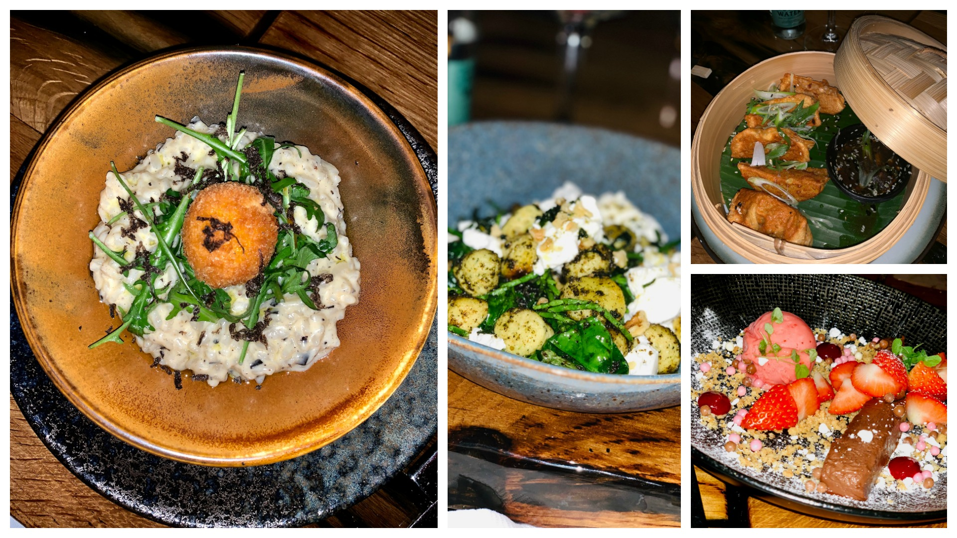 food at the harbour club Vinkeveen