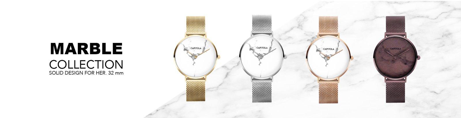 Capitola watches Horloge marnble