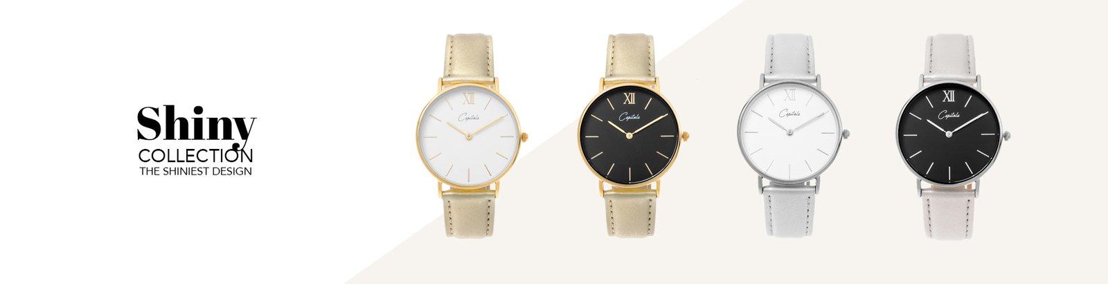 Capitola watches Horloge shiny