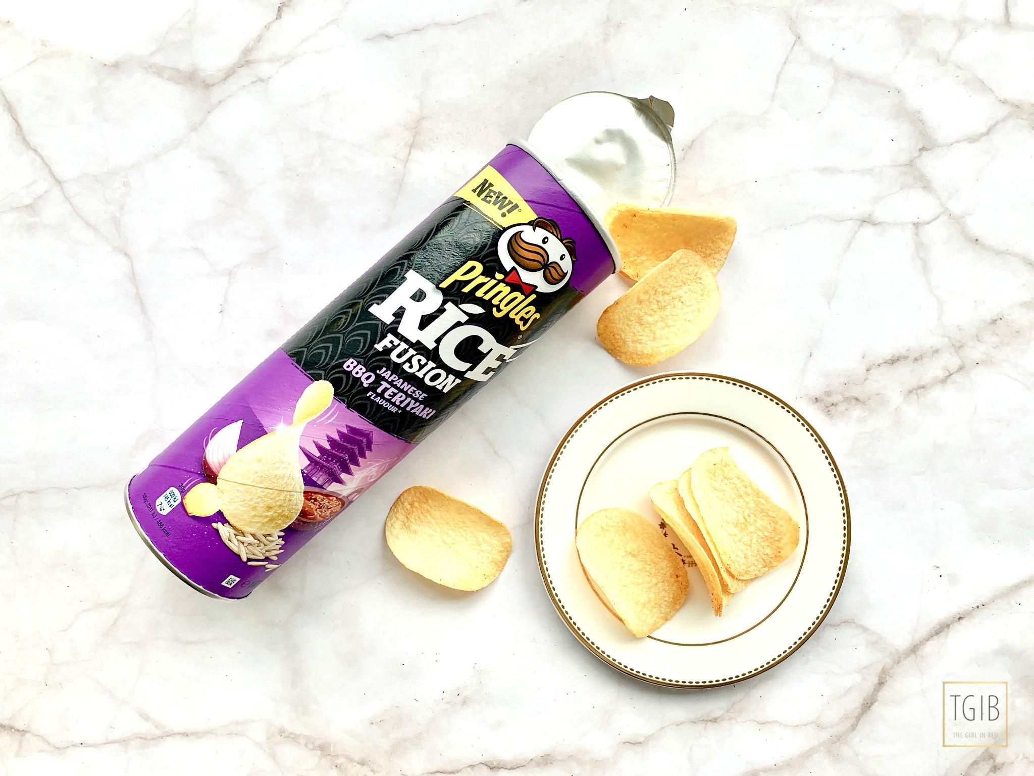 Pringles Japanese bbq teriyaki