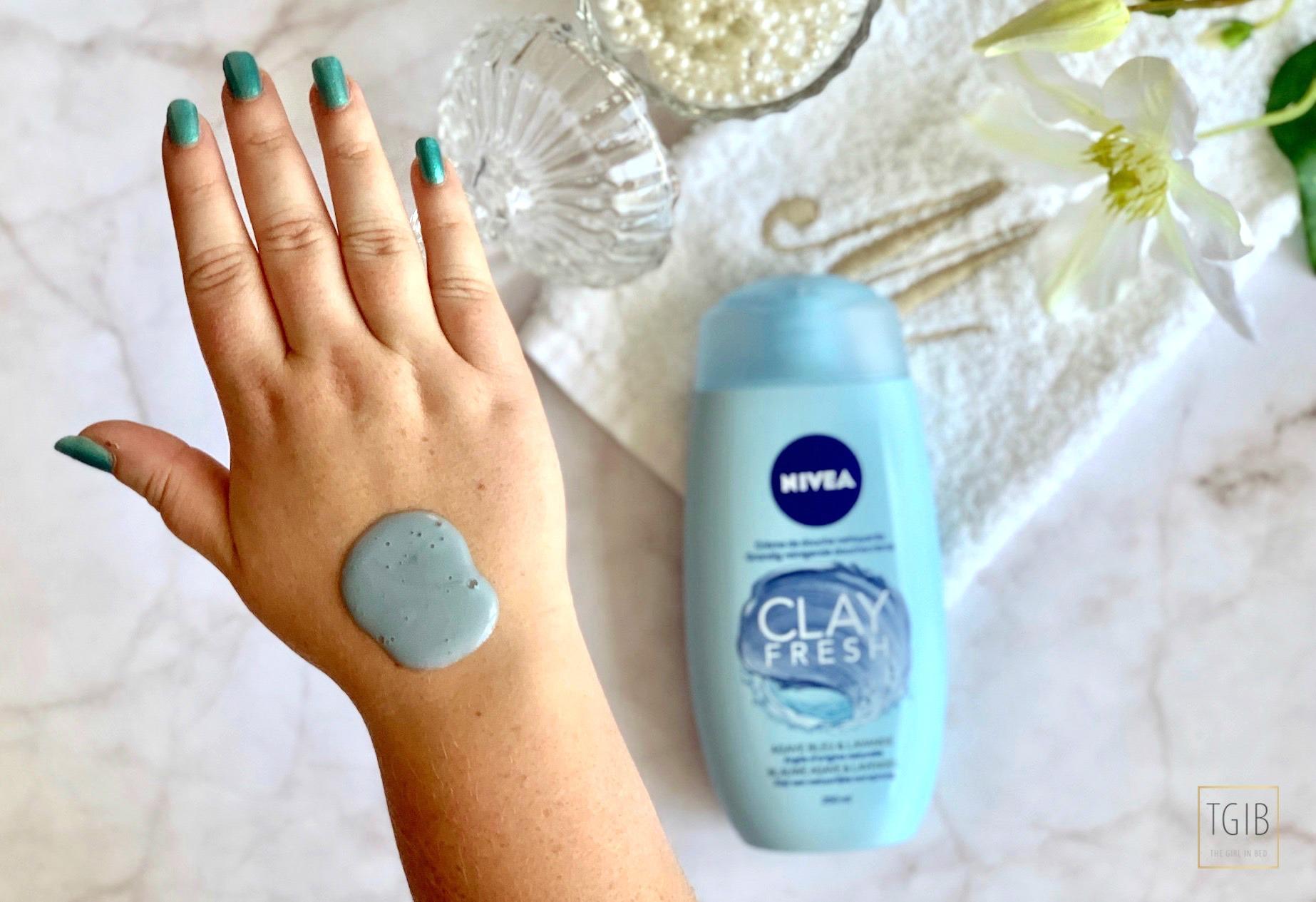 Nivea Clay Fresh Blauwe Agave & Lavendel