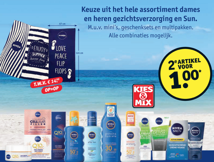 Nivea SUN Sensitive Kruidvat