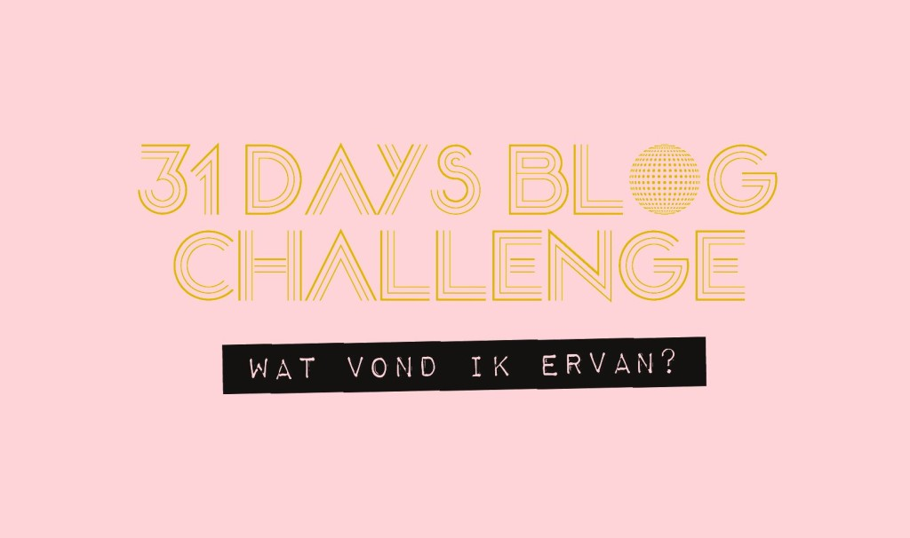 31 days blog challenge the girl in bed