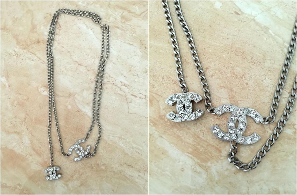 mijn vintage chanel sieraden ketting