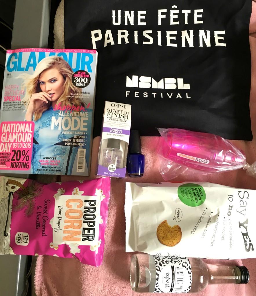 Verslag NSMBL Festival Une Fete Parisienne goodybag