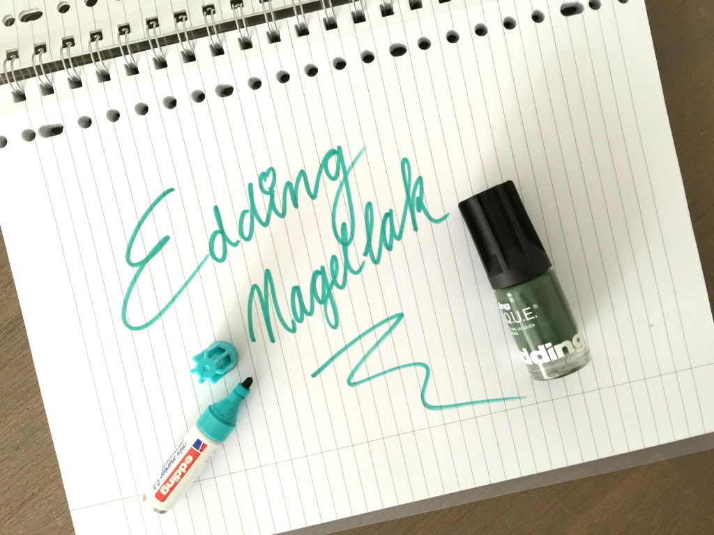 edding nagellak the girl in bed