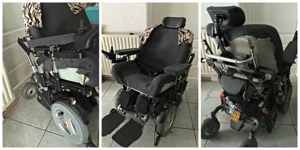 rolstoel make-over before