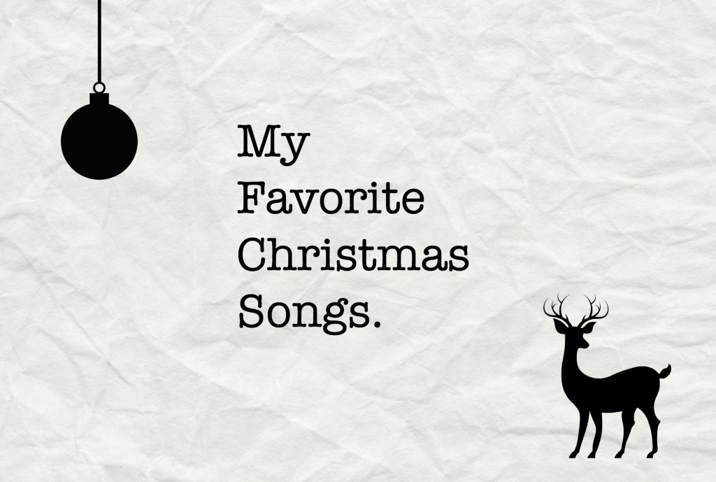 mijn favoriete kerstliedjes