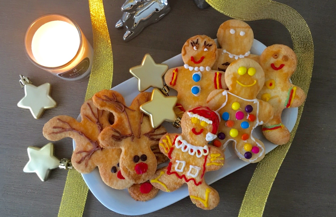 The Girl in the Kitchen: Kerstkoekjes