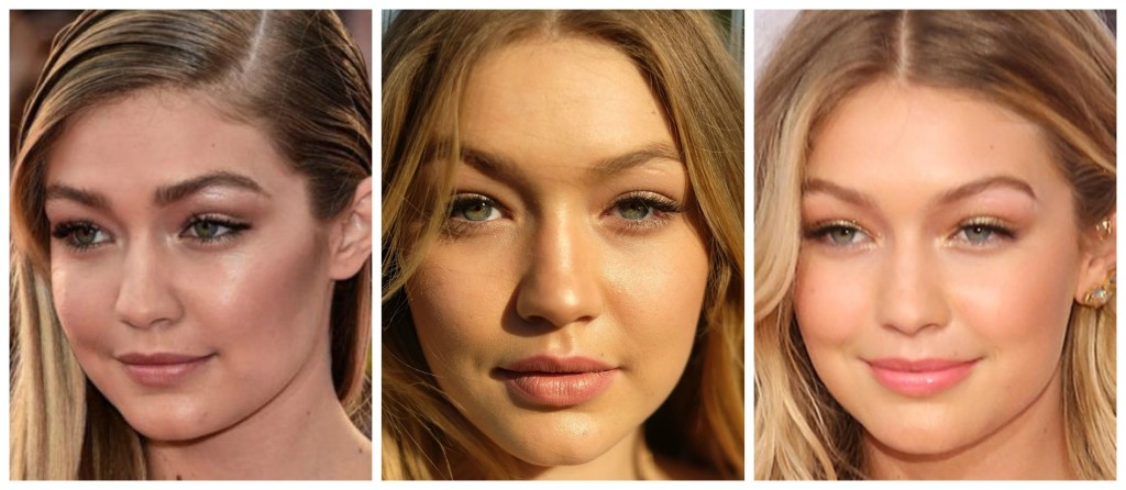 gigi's casual make-up look 2