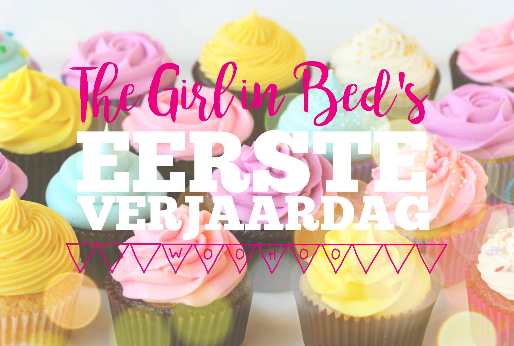 The Girl in Bed's eerste verjaardag + winactie
