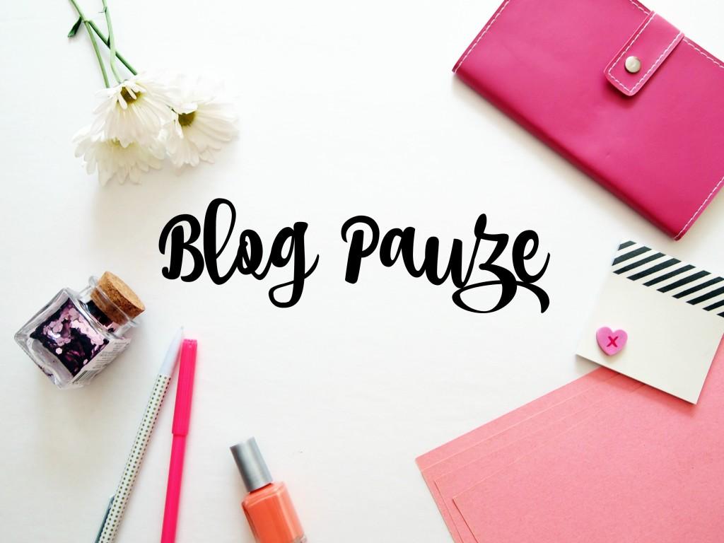 blog pauze