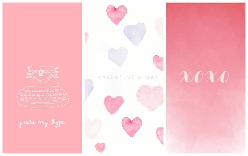 Wallpapers #3 Valentijnsdag