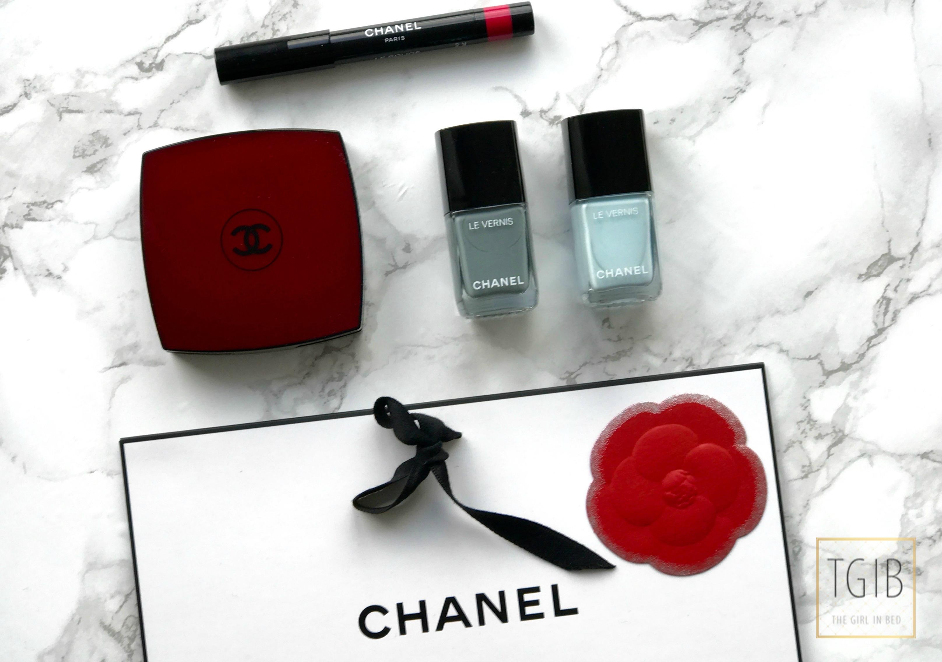 Chanel Beauty Shoplog