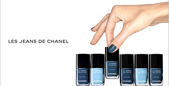 chanel coco blue les jeans de chanel