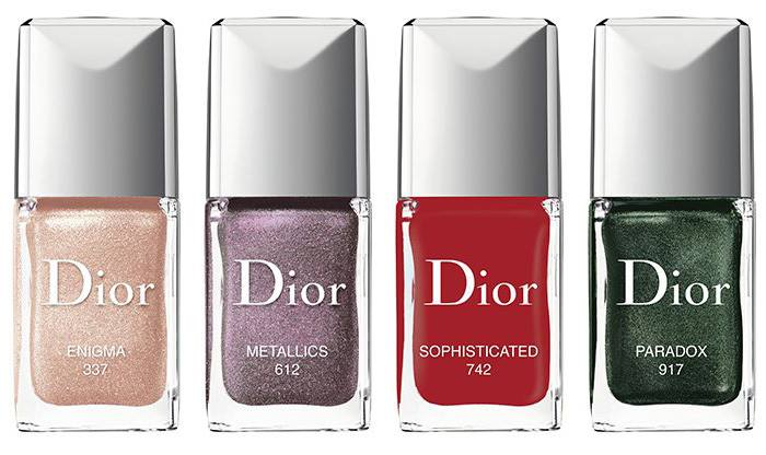 Dior Metallics Fall 2017 nagellak