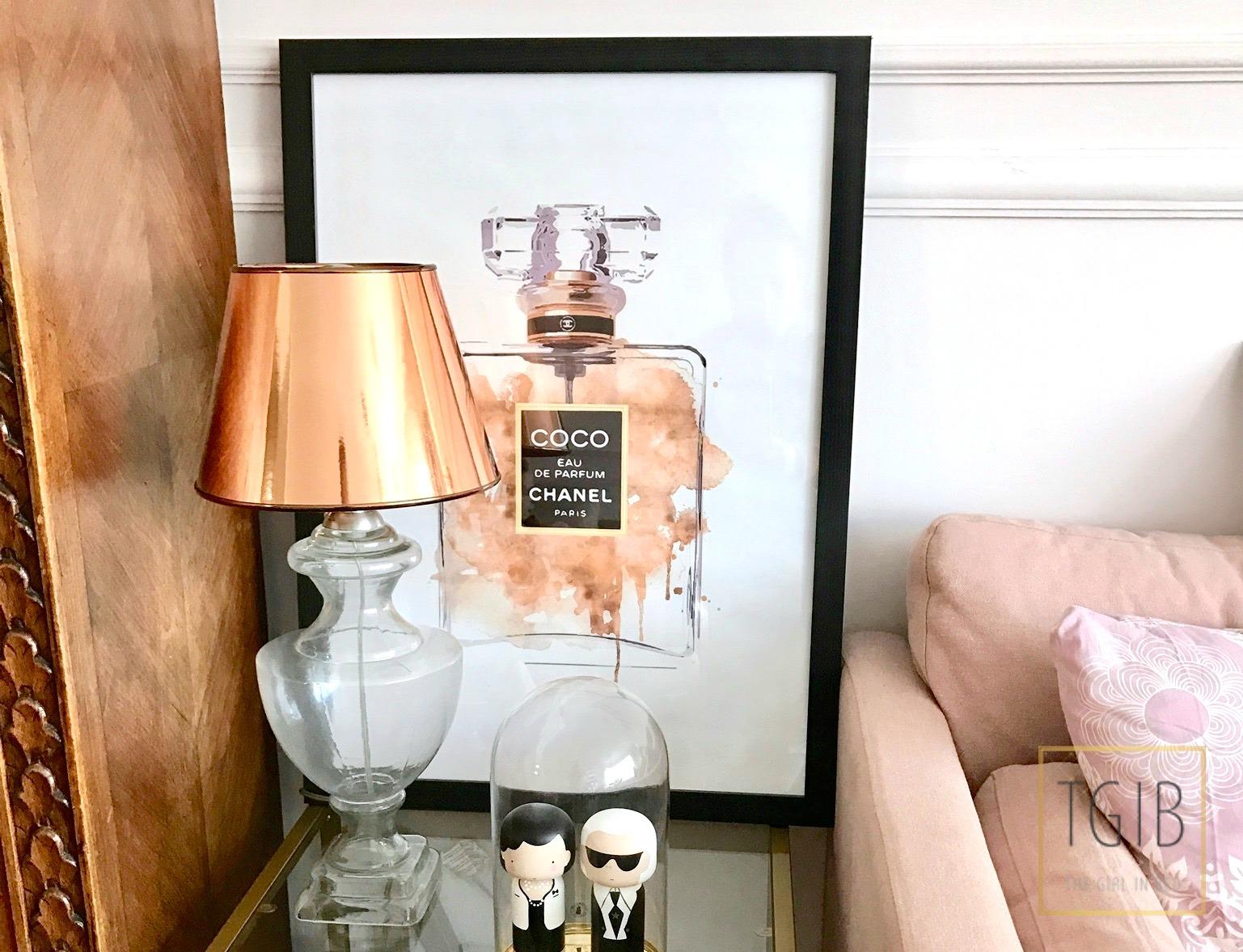 interieurhoekje Chanel