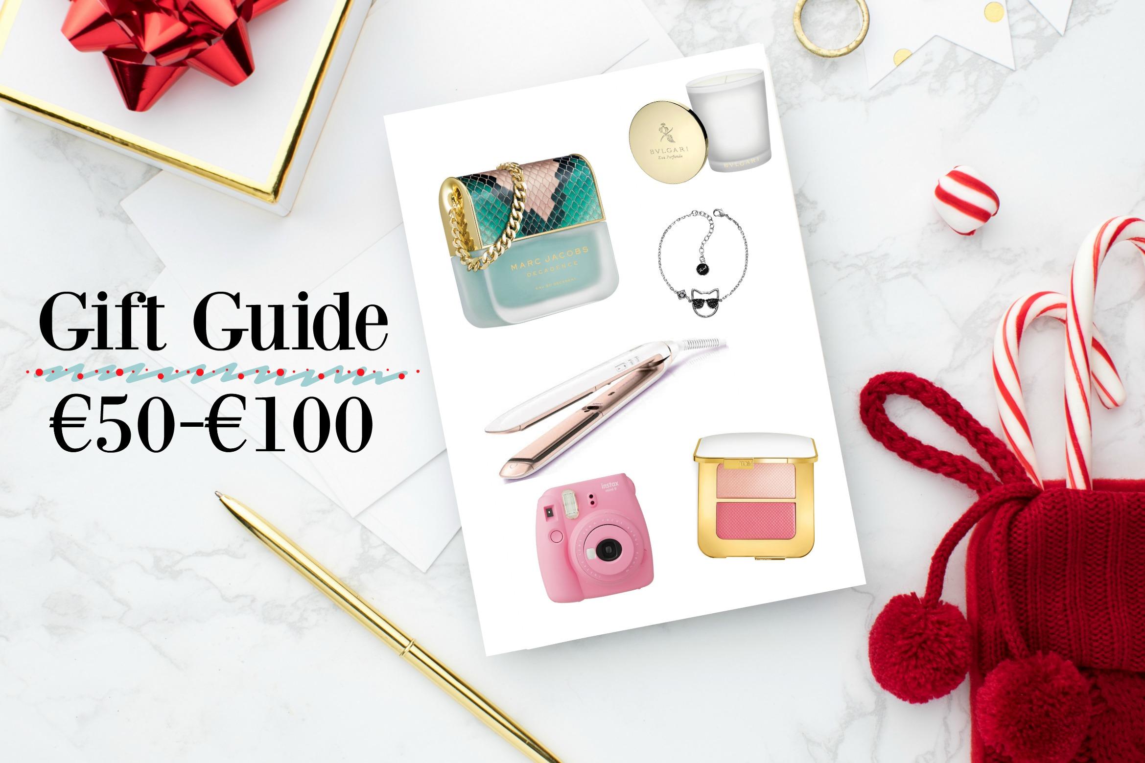 Gift Guide tussen €50 en €100