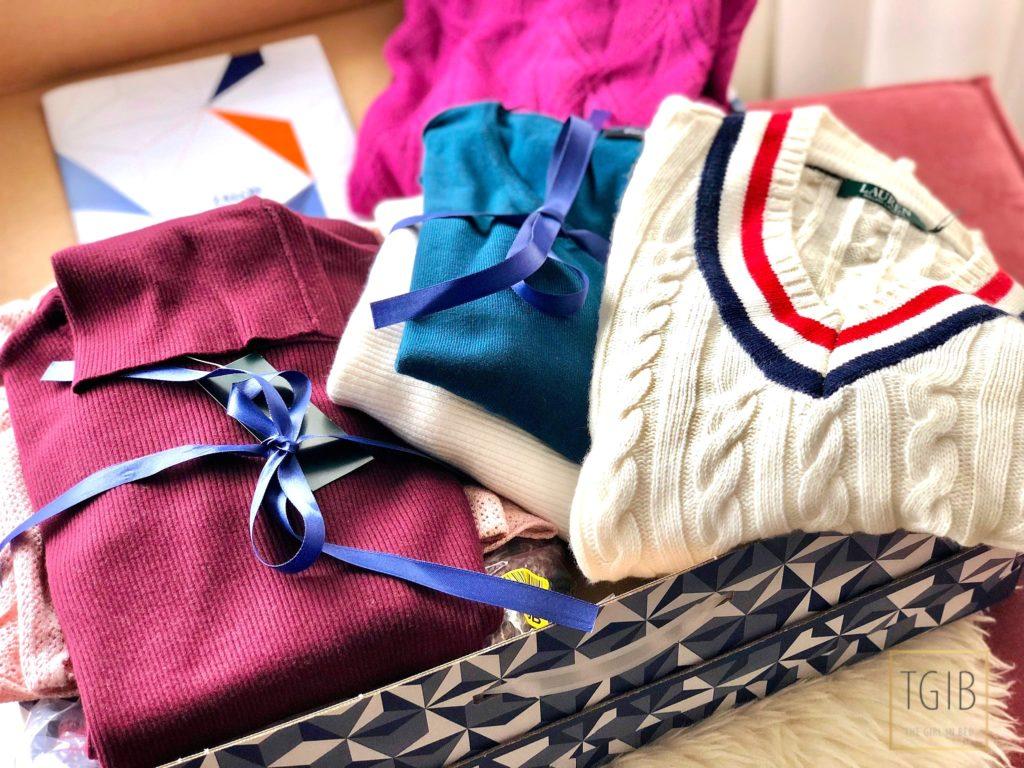 Zalon box met kleren