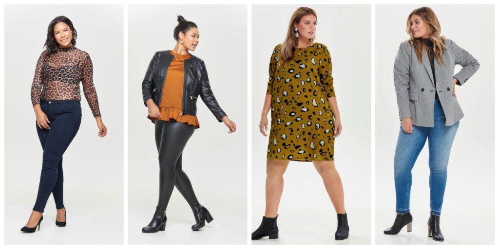 4 vrouwen met kleding aan
