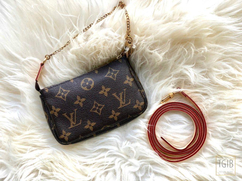 Louis Vuitton Mini Pochette Accessoires with strap
