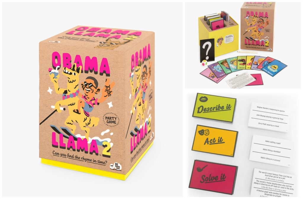 Obama llama 2 board game