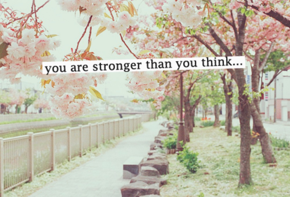 quote stronger than you think