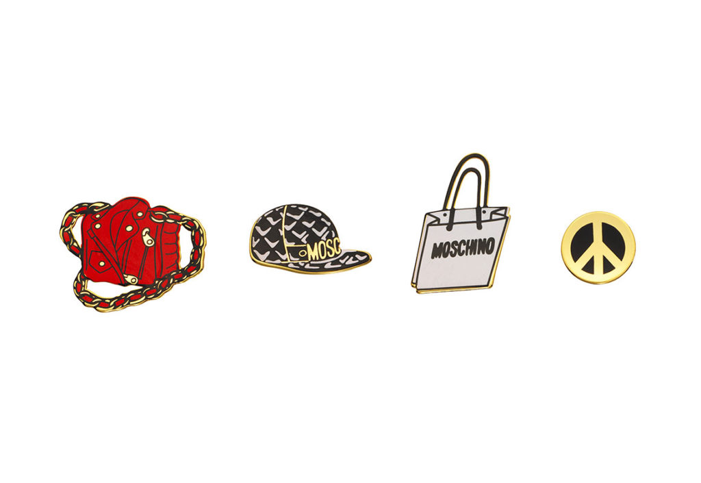 Pin broches Moschino x H&M