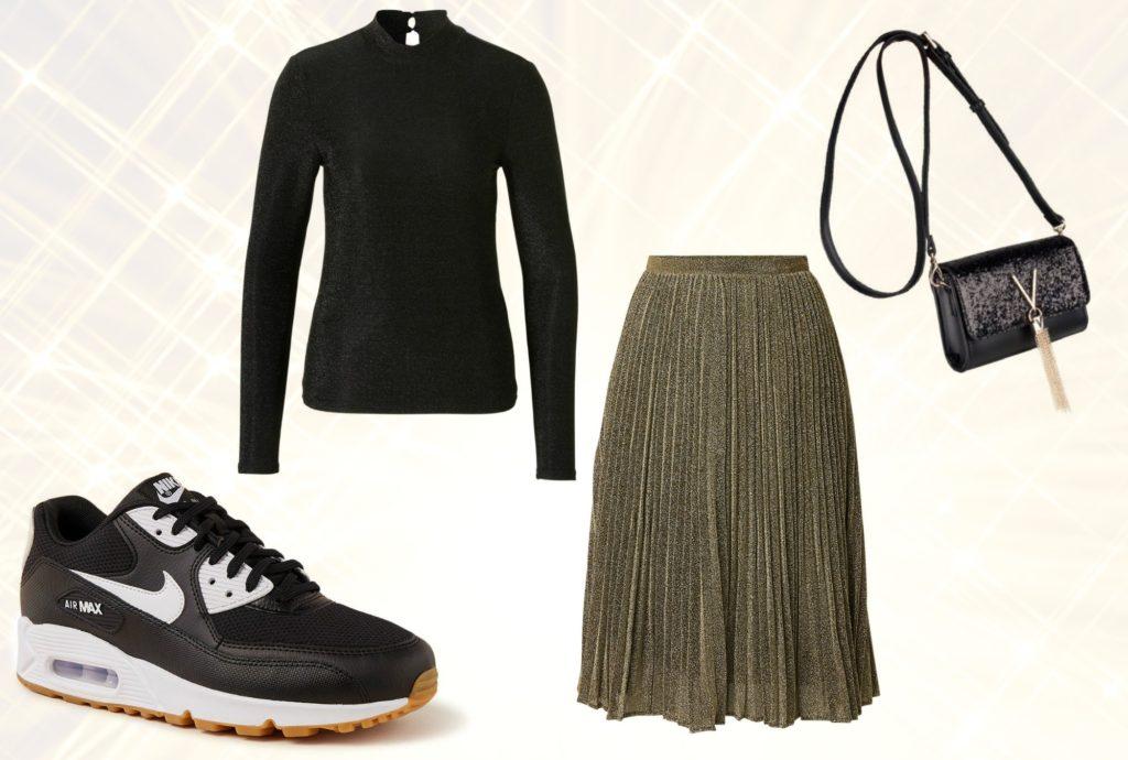 outfit met sneakers
