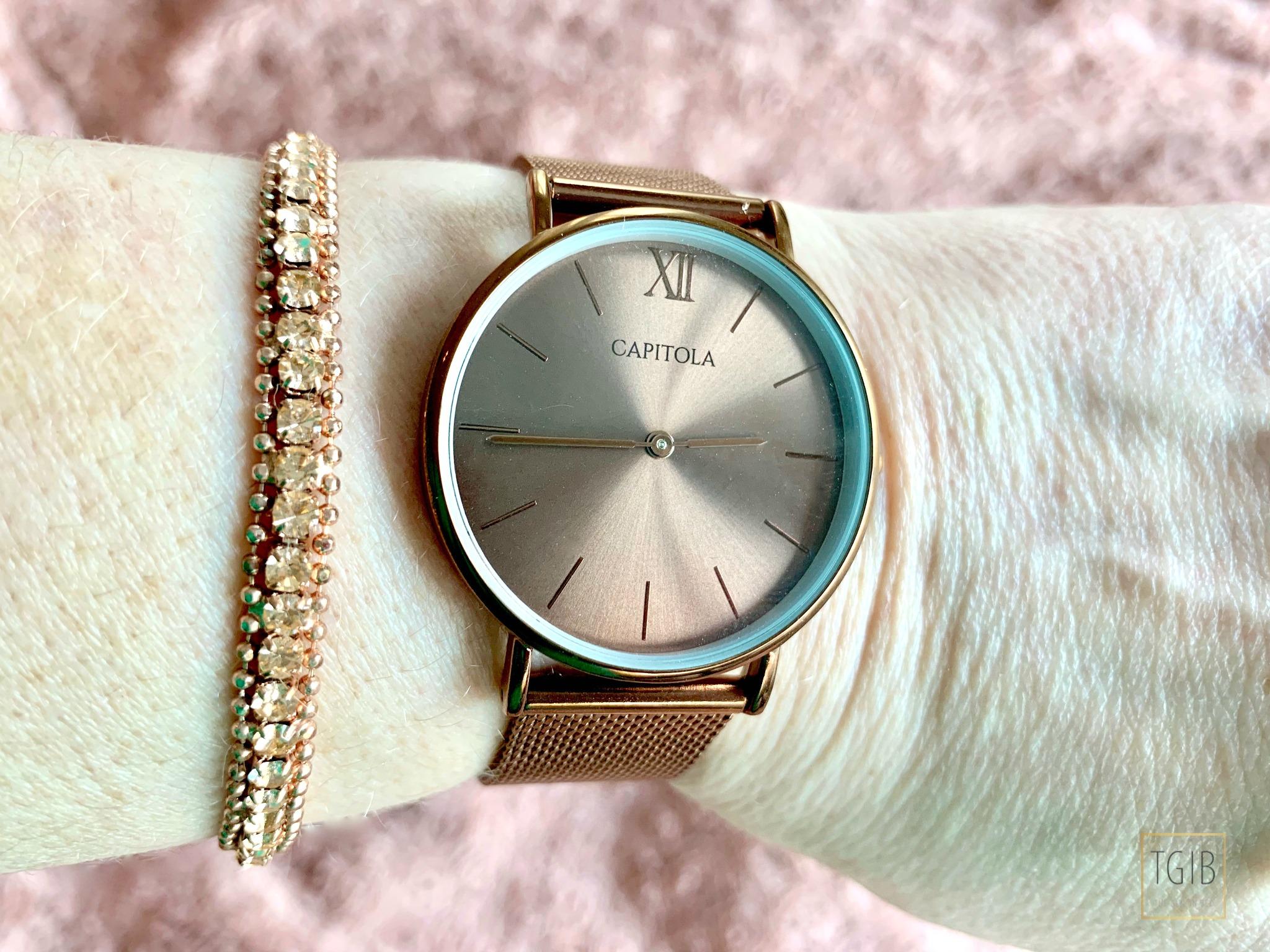 Capitola watch bracelet