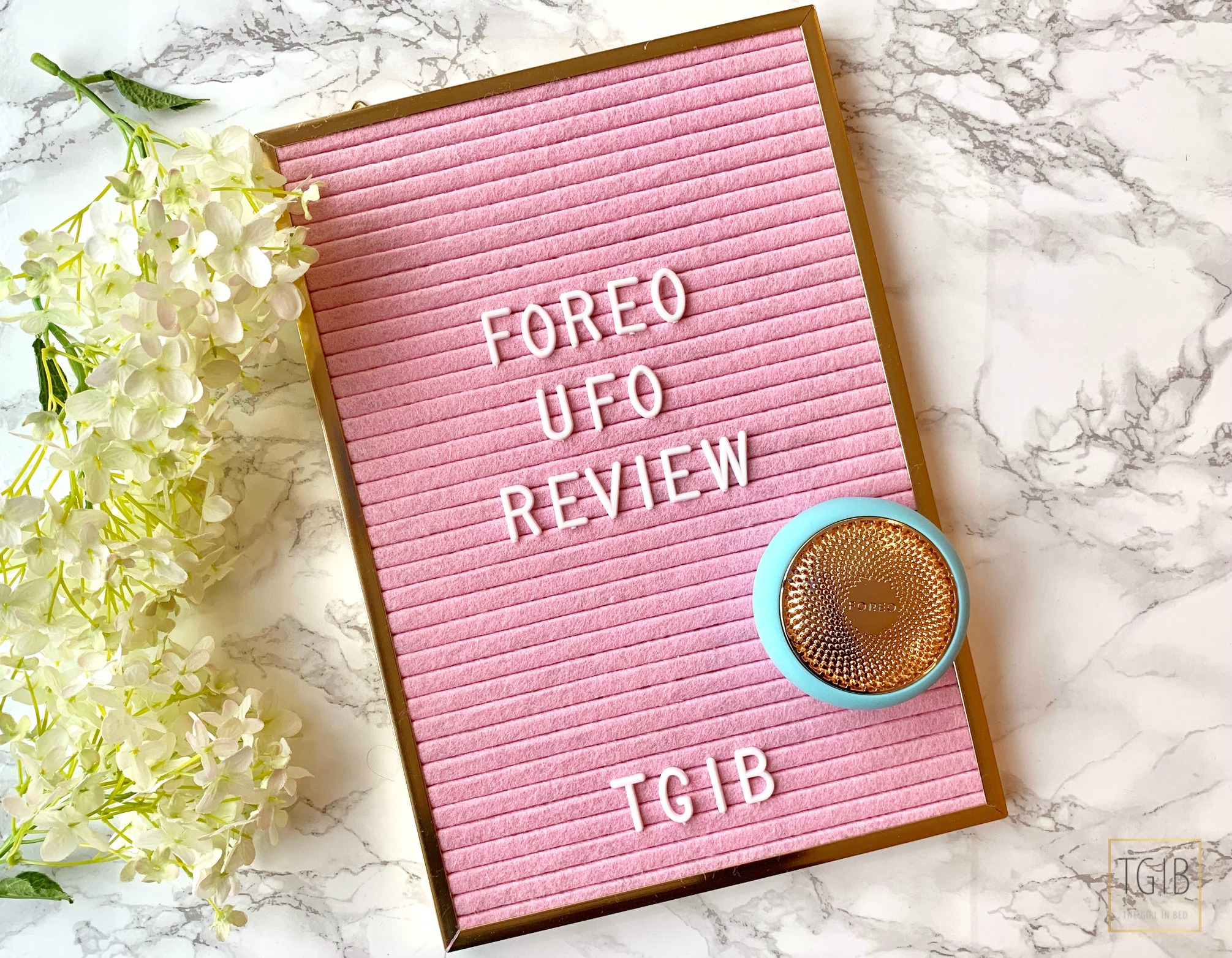Foreo Ufo Review blue