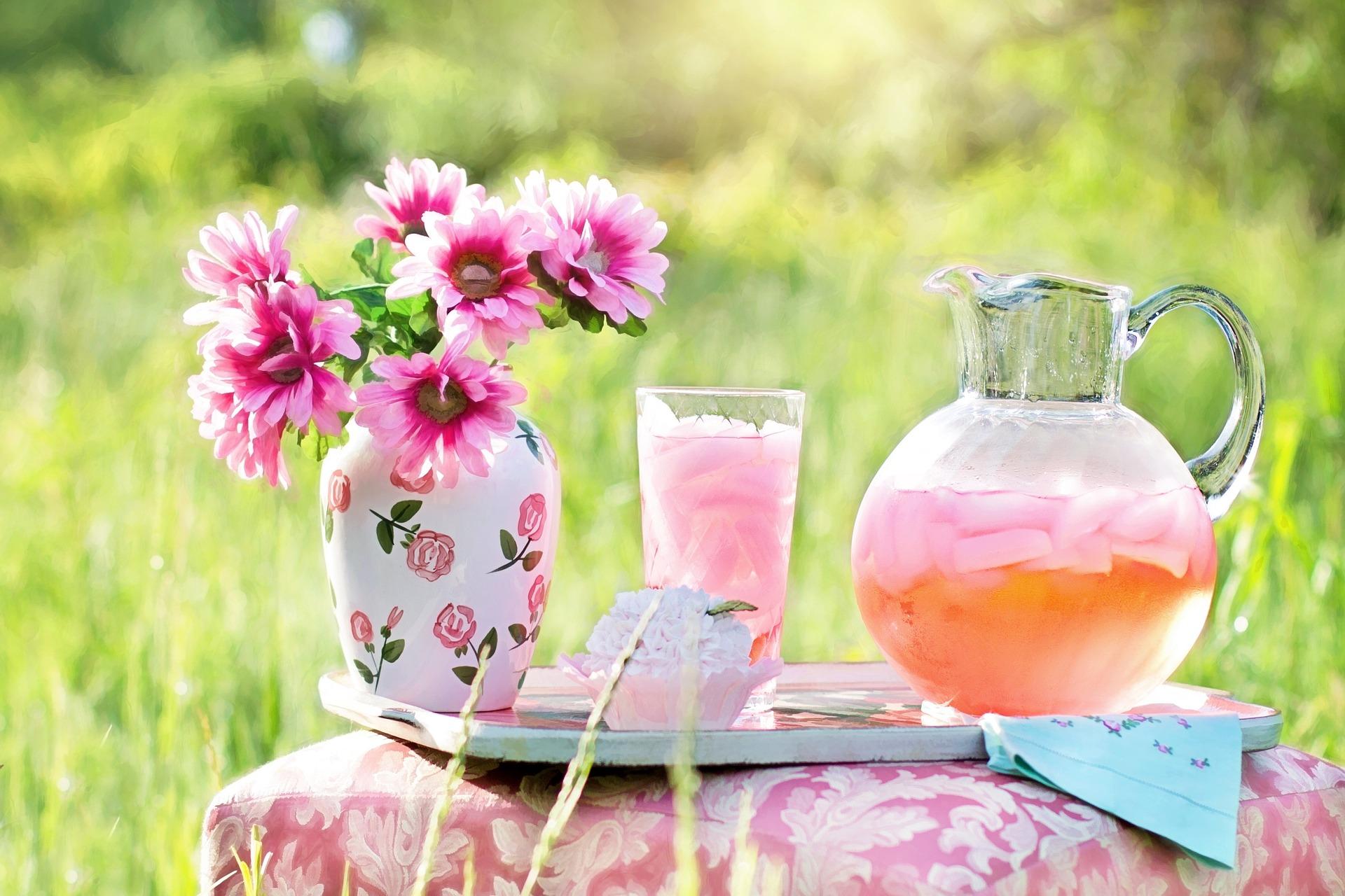 summer garden picnic