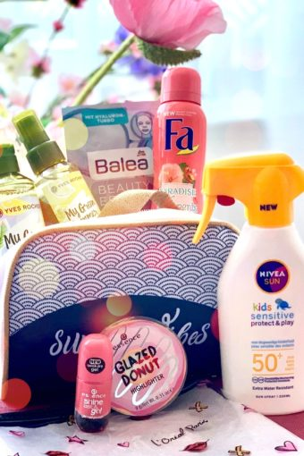 filled make-up bag