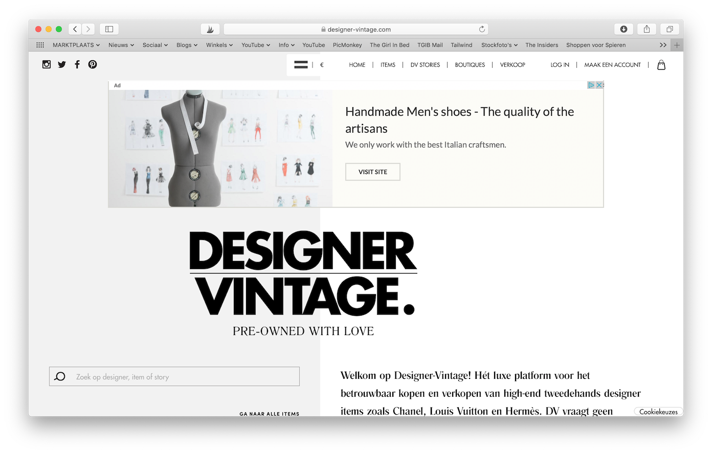 Tweedehands Designer Webshops Designer-vintage