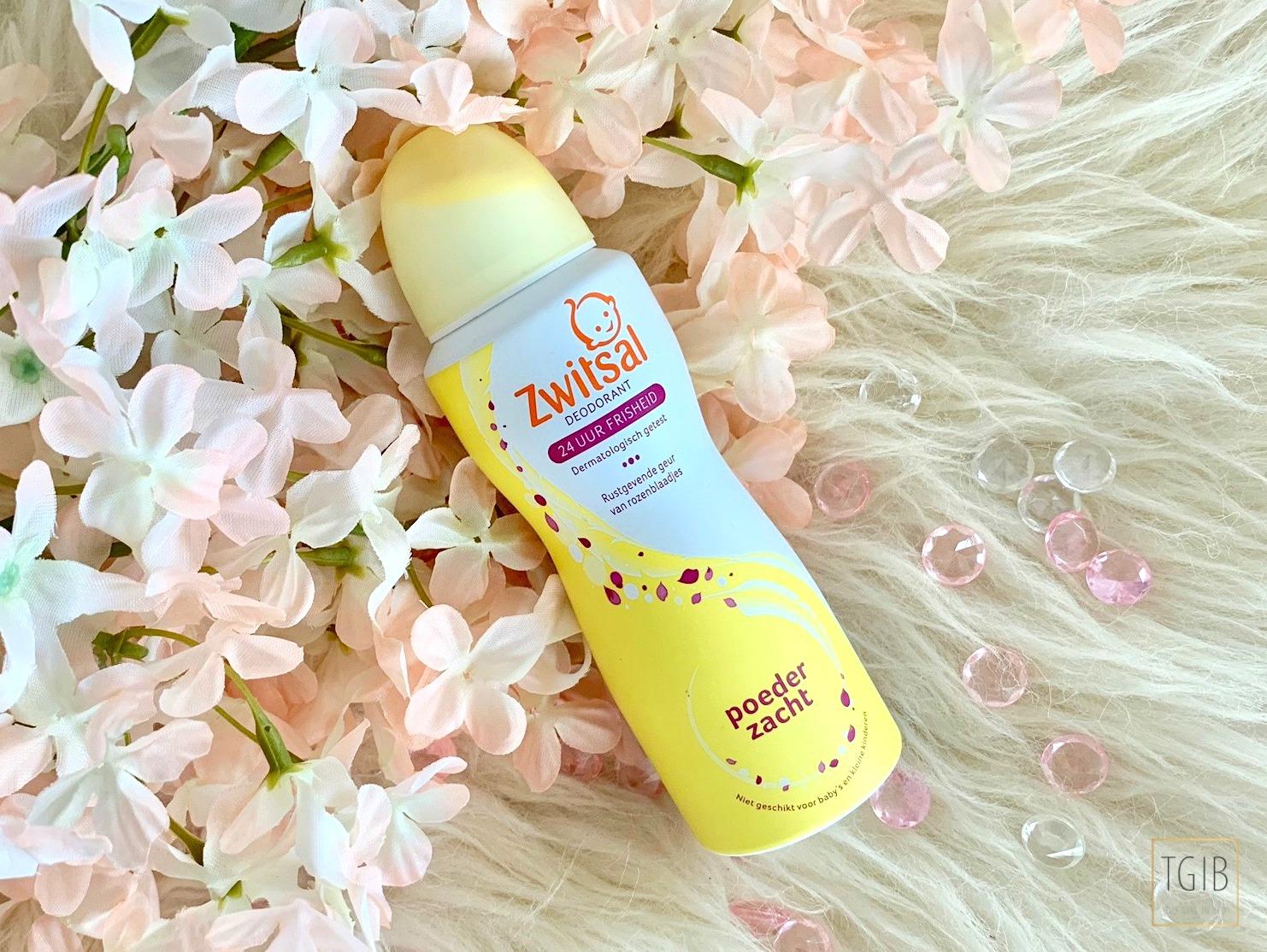 eerste indruk Zwitsal deodorant poederzacht review