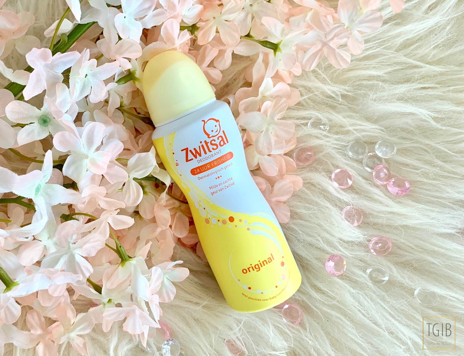 eerste indruk Zwitsal deodorant Original review