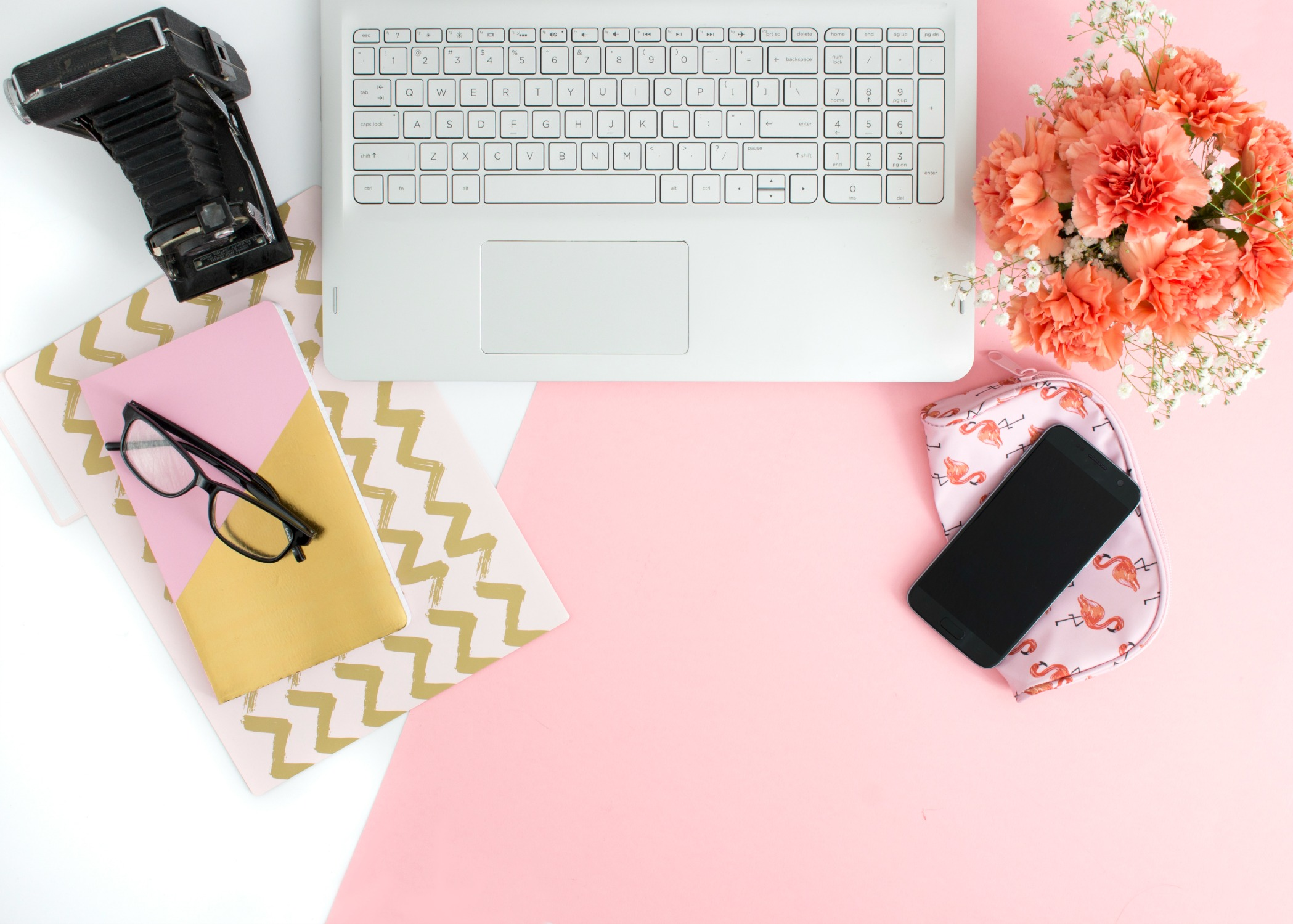 Another Blogging Tag -2 desk flatlay