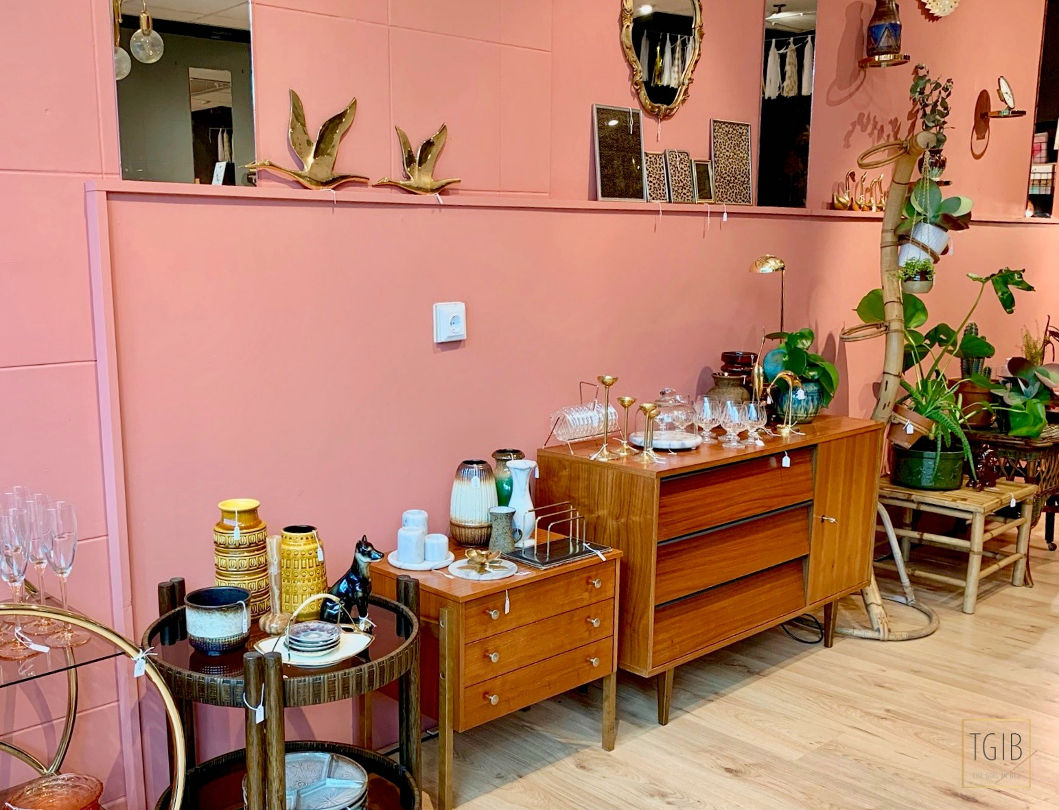 Hotspot: Thuis Bij Mau vintage art deco passage 20 winkel