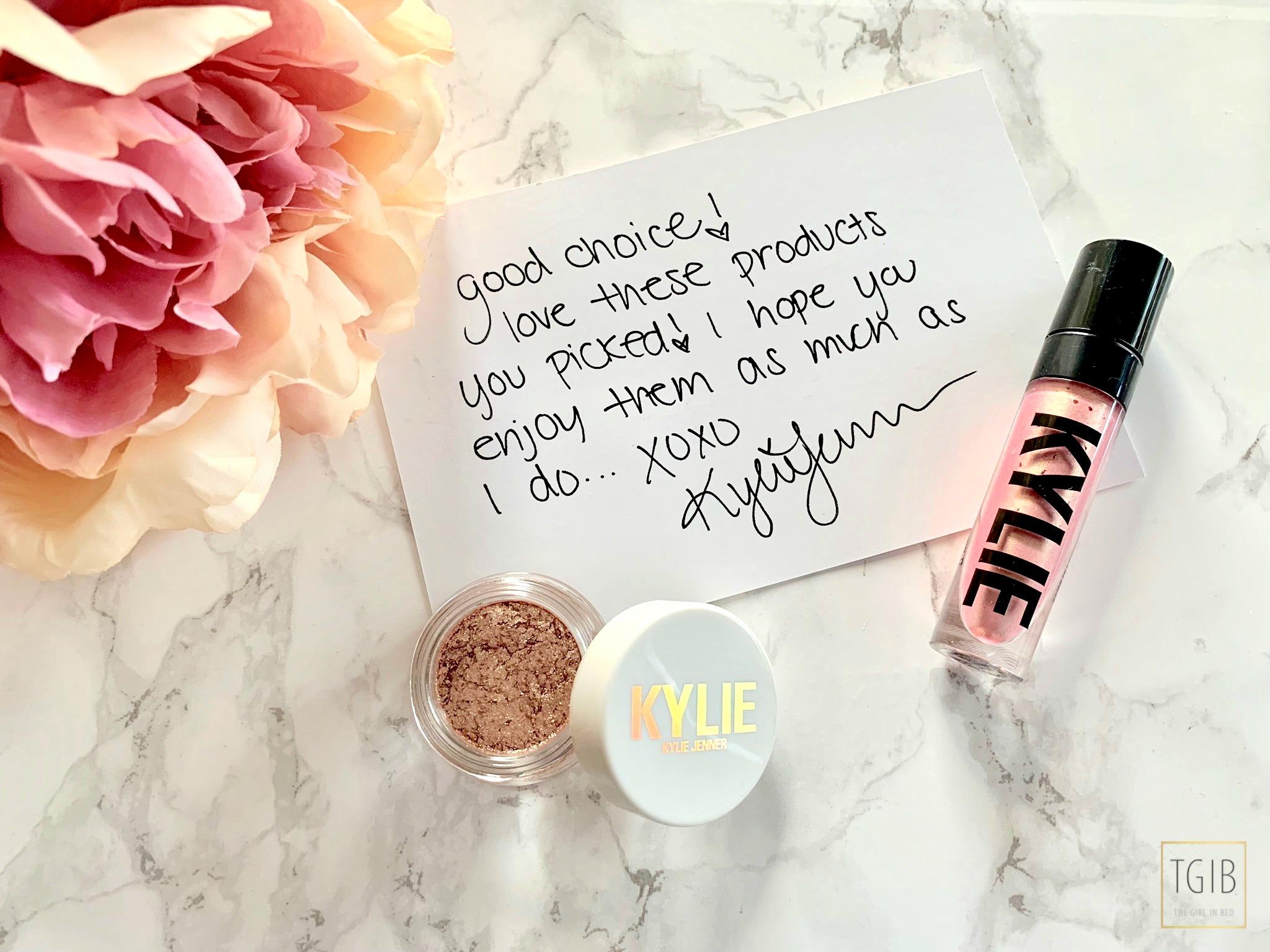 KylieCosmetics Shoplog Shimmer Eye Glaze - Night Swim Glitter Eyes - Eat Cake